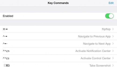 KeyCommands