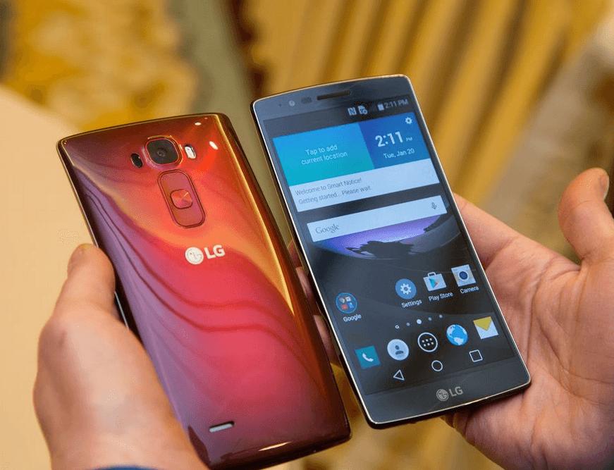 LG G Flex 2 CES 2015 1