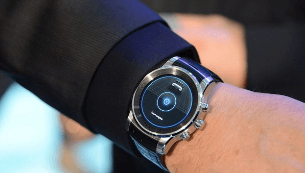 LG webOS smartwatch CES 2015