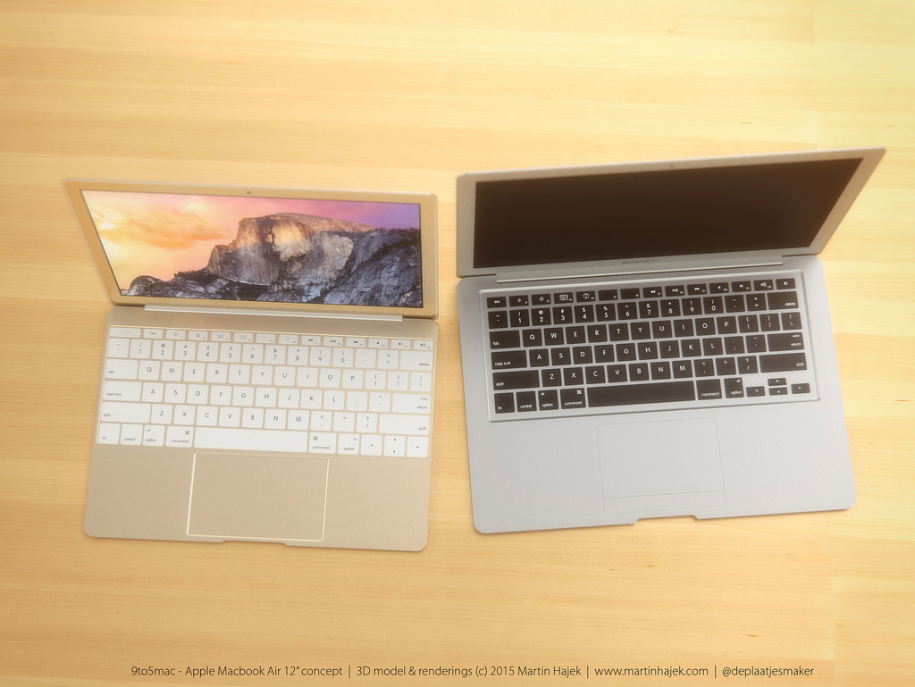 MacBook Air 12 inch concept design 1