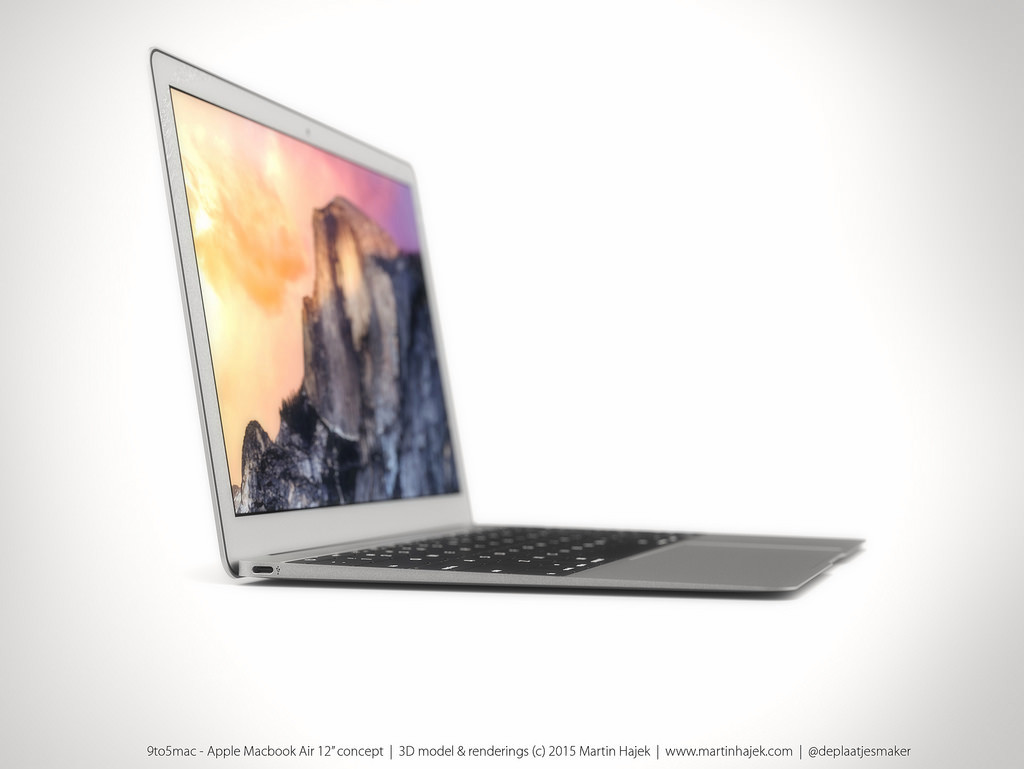 MacBook Air 12 inch concept design 10