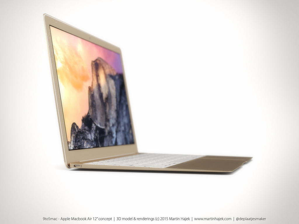 MacBook Air 12 inch concept design 12