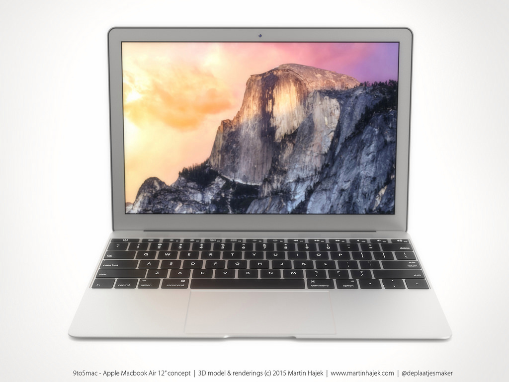 MacBook Air 12 inch concept design 13