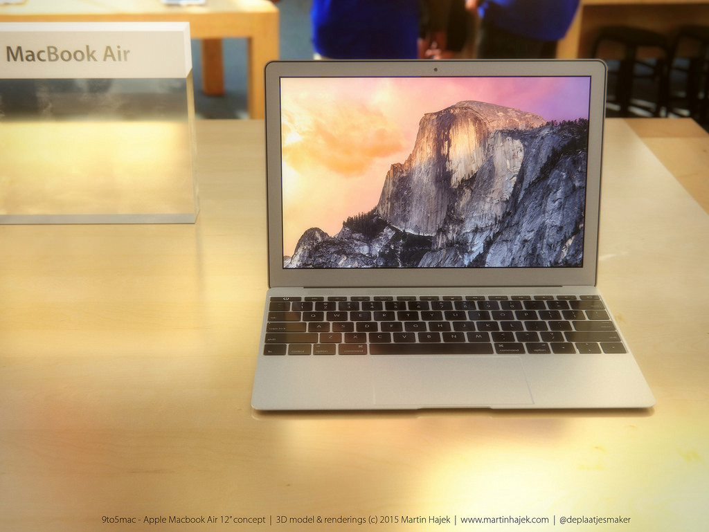 MacBook Air 12 inch concept design 14