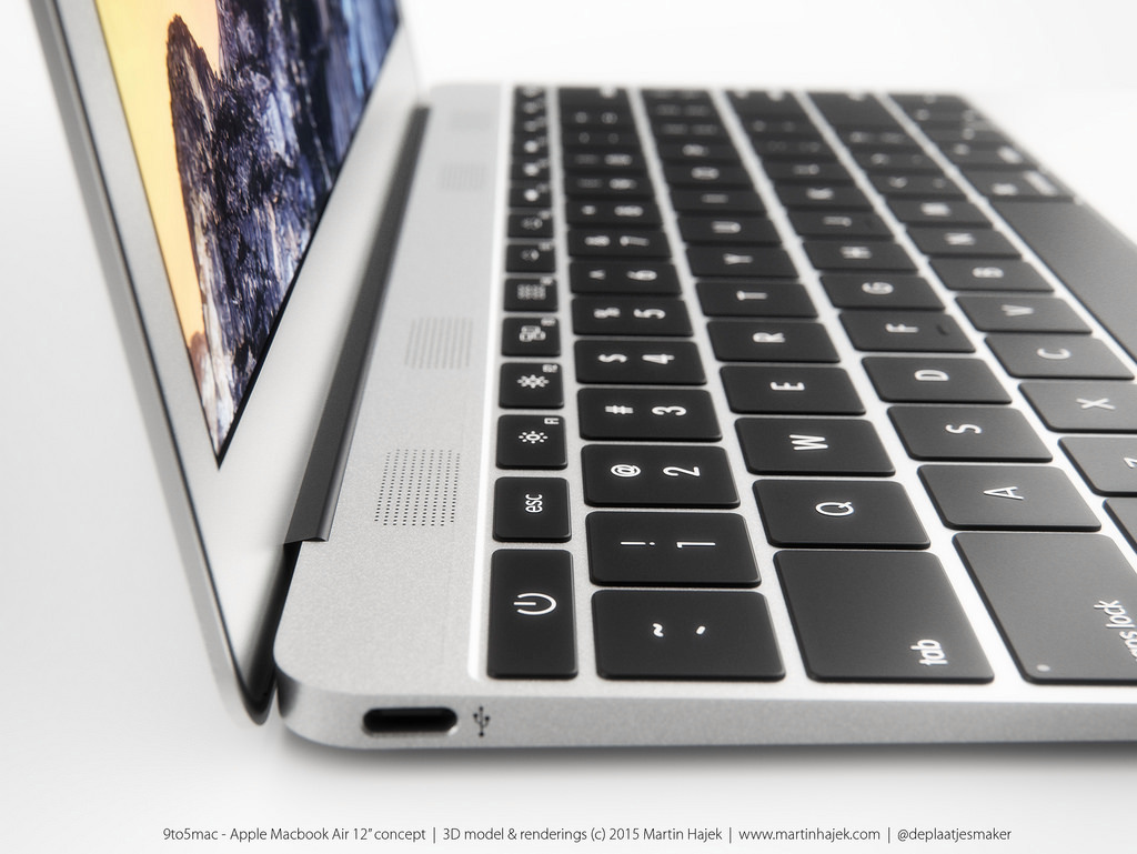 MacBook Air 12 inch concept design 15