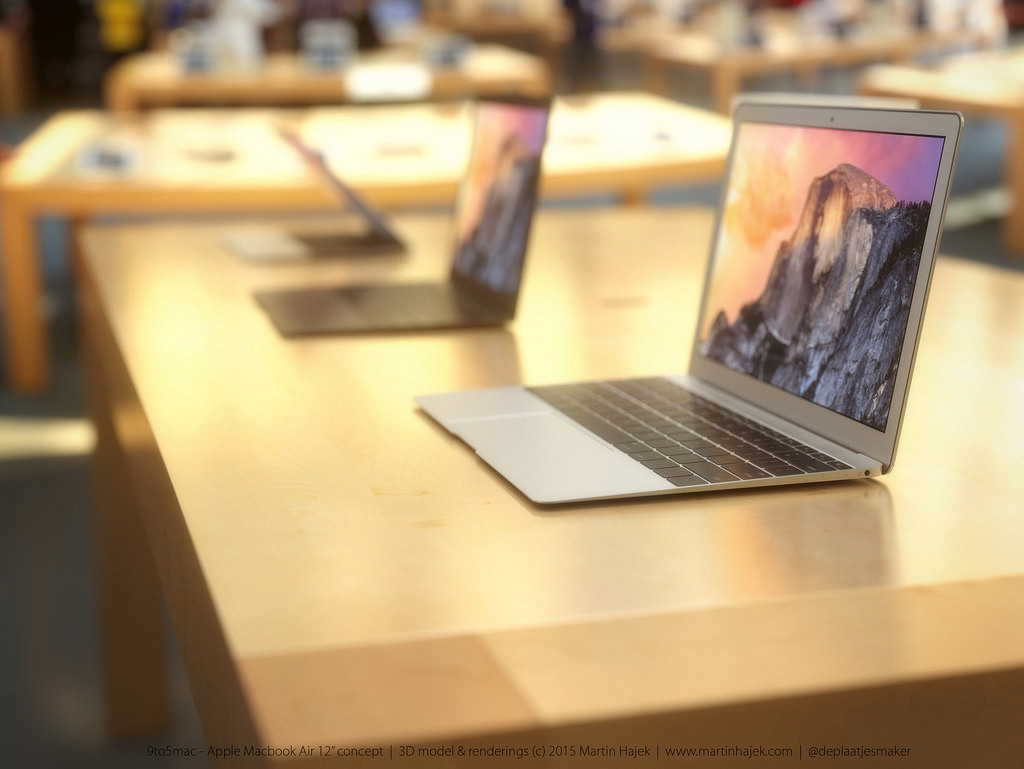 MacBook Air 12 inch concept design 16