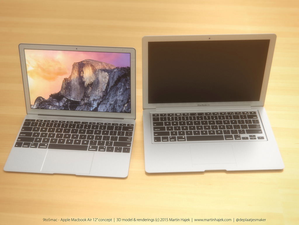 MacBook Air 12 inch concept design 2