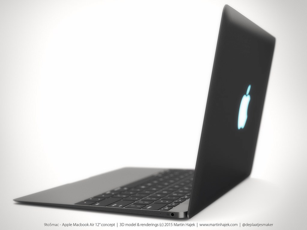 MacBook Air 12 inch concept design 3