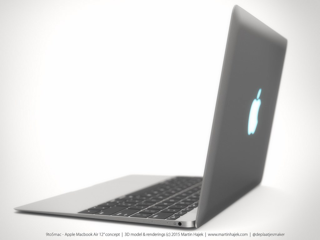 MacBook Air 12 inch concept design 5