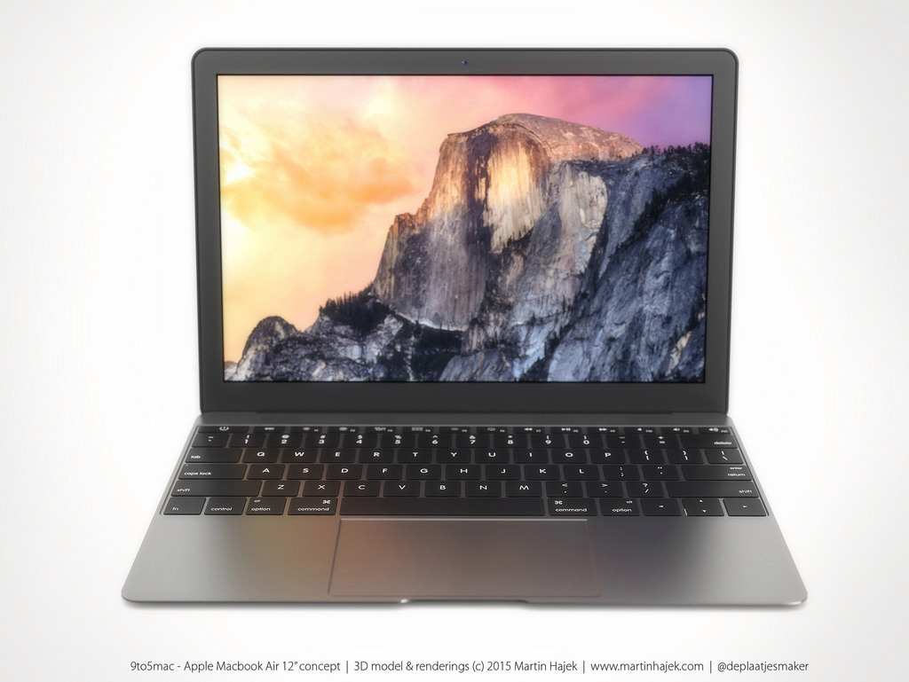 MacBook Air 12 inch concept design 6