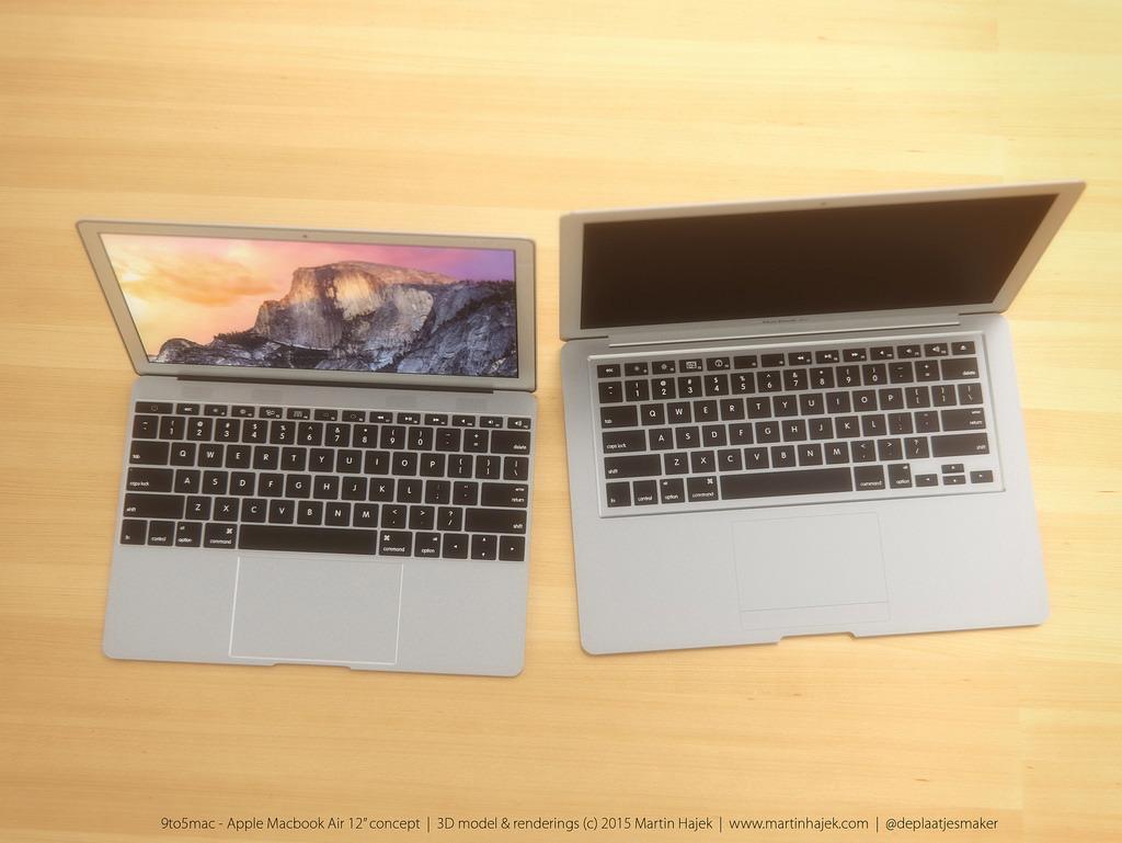 MacBook Air 12 inch concept design