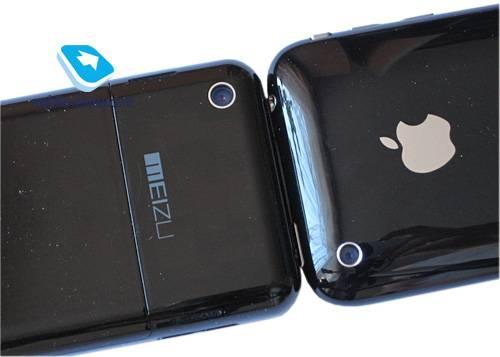 Meizu M8 prima clona iPhone 2