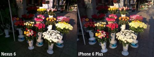 Nexus 6 vs iPhone 6 Plus - camera 1