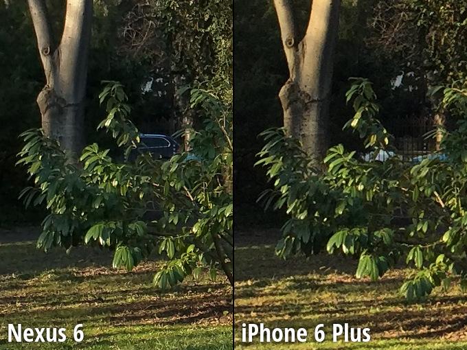 Nexus 6 vs iPhone 6 Plus camera