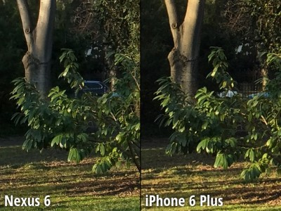 Nexus 6 vs iPhone 6 Plus comparatie camera 1