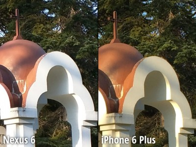 Nexus 6 vs iPhone 6 Plus comparatie camera 2