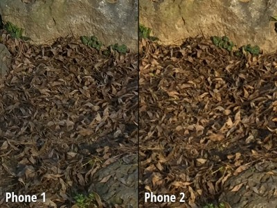 Nexus 6 vs iPhone 6 Plus comparatie camera 6