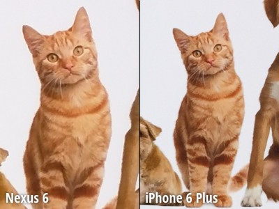 Nexus 6 vs iPhone 6 Plus comparatie camera 7