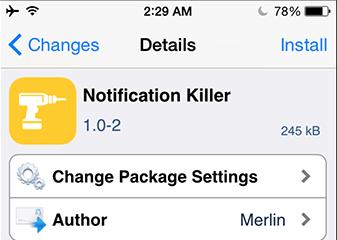 Notifications Killer