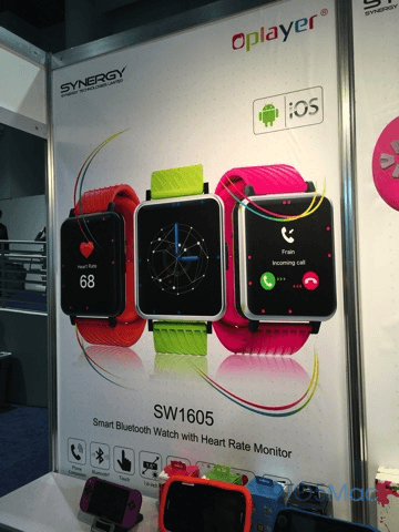 OPlayer clona Apple Watch CES 2015