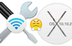 OS X Yosemite 10.10.2 probleme WiFi