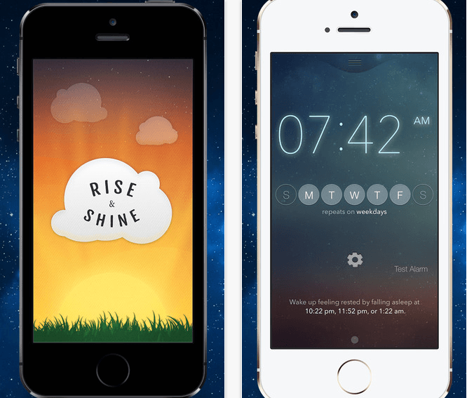 Rise & Shine Smiling Alarm Clock