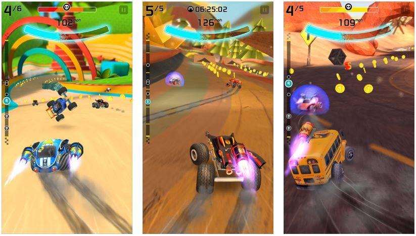Rocket Cars cea mai buna aplicatie a saptamanii in App Store Romania