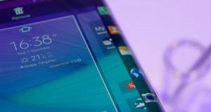 Samsung Galaxy S6 Edge ecran margini
