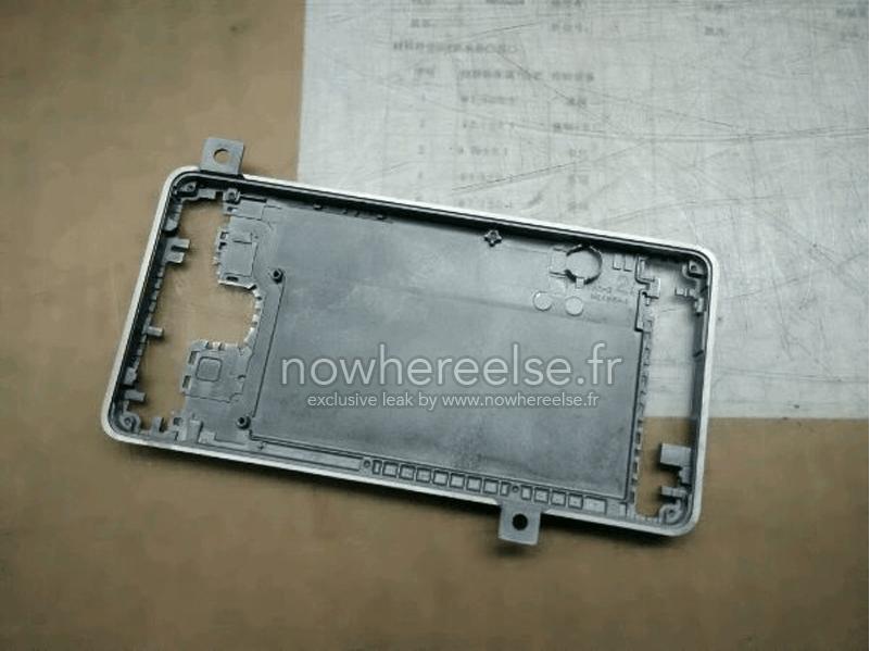 Samsung Galaxy S6 carcasa aluminiu 1
