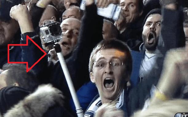 Selfie stadion