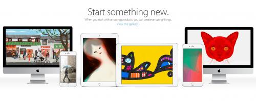 Start something new