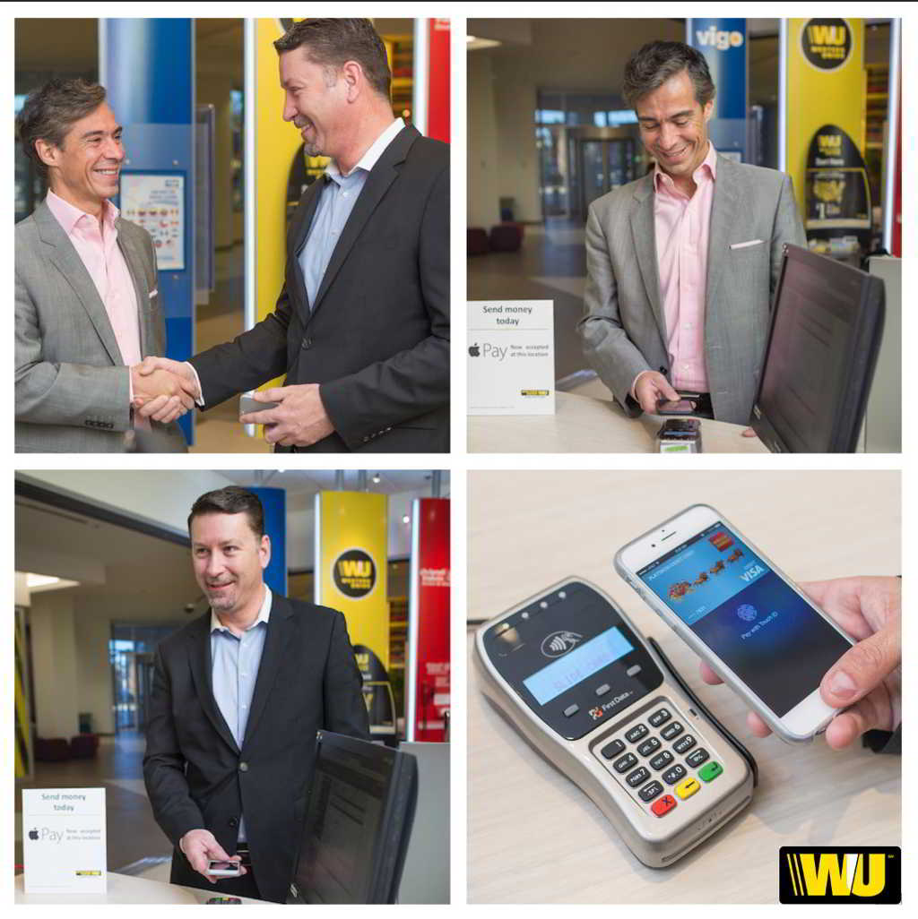 Western Union Apple Pay