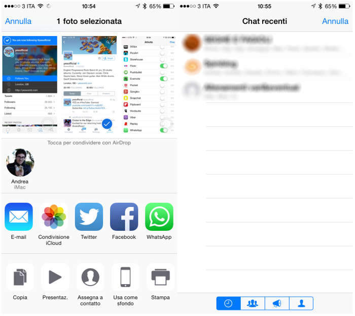 WhatsApp Messenger trimitere poze