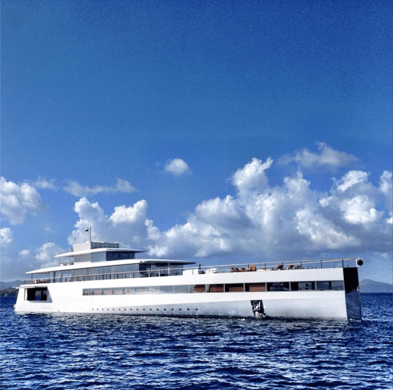Yacht Steve Jobs 1