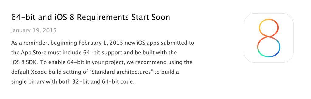 aplicatii 64 bit App Store