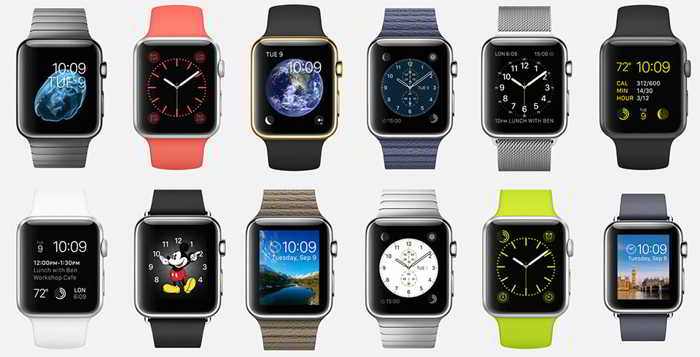 apple watch modele