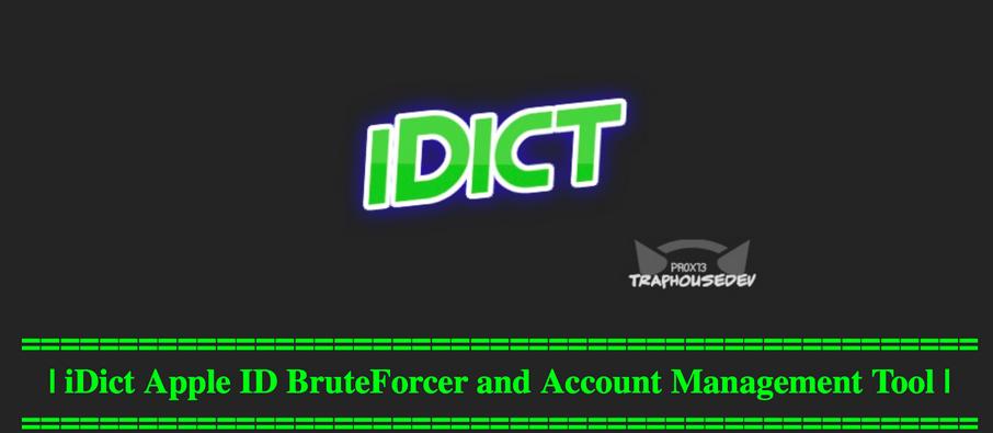 iDict spart parole iCloud