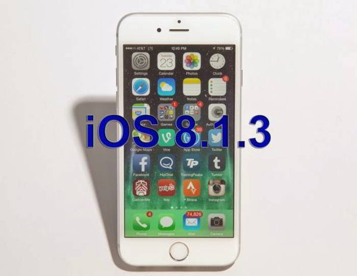 iOS 8.1.3 iphone
