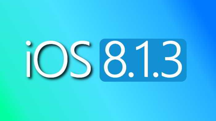 iOS 8.1.3 merita instalat