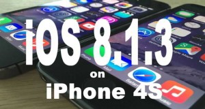 iOS 8.1.3 vs iOS 8.1.2 iPhone 4S
