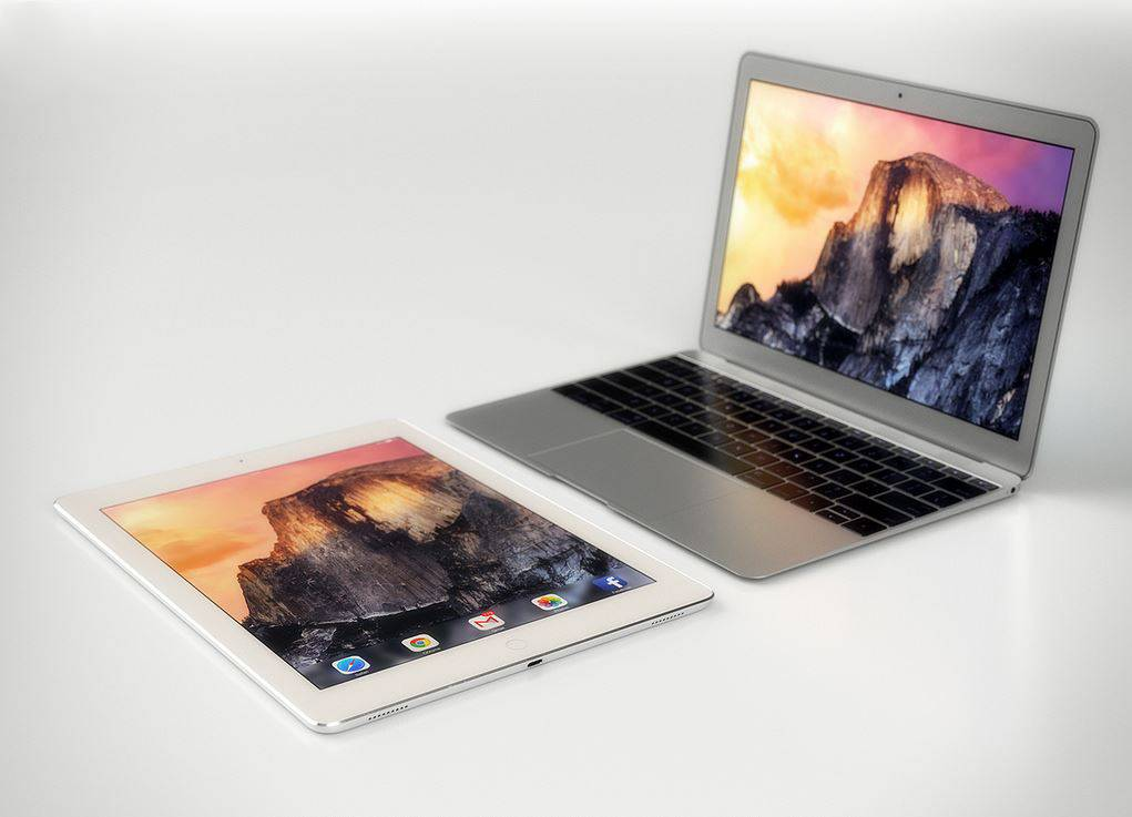 iPad Pro vs MacBook Air 12 inch 2