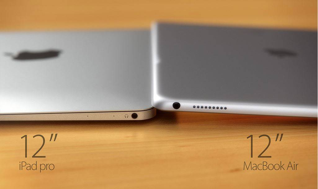iPad Pro vs MacBook Air 12 inch 5