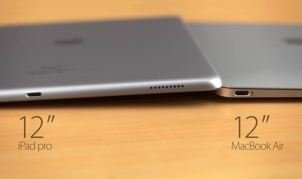 iPad Pro vs MacBook Air 12 inch 6