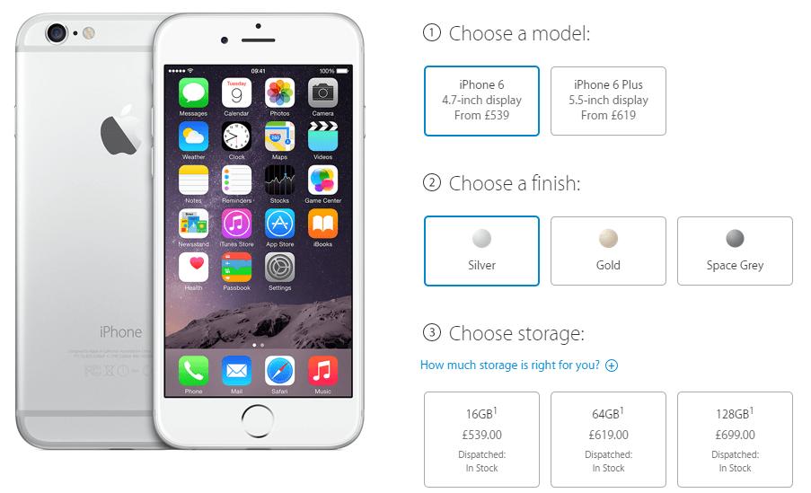 iPhone 6 iPhone 6 Plus in stoc