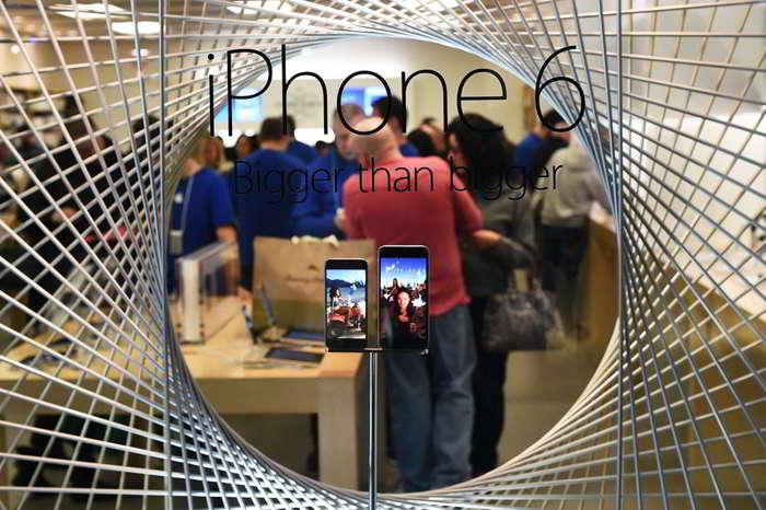 iPhone 6 mare
