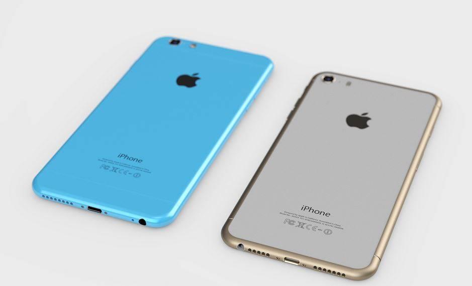 iPhone 6S 2 GB RAM concept