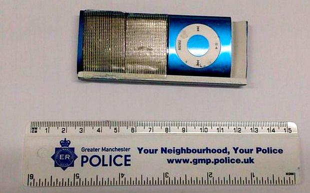 iPod Nano furt bancomat