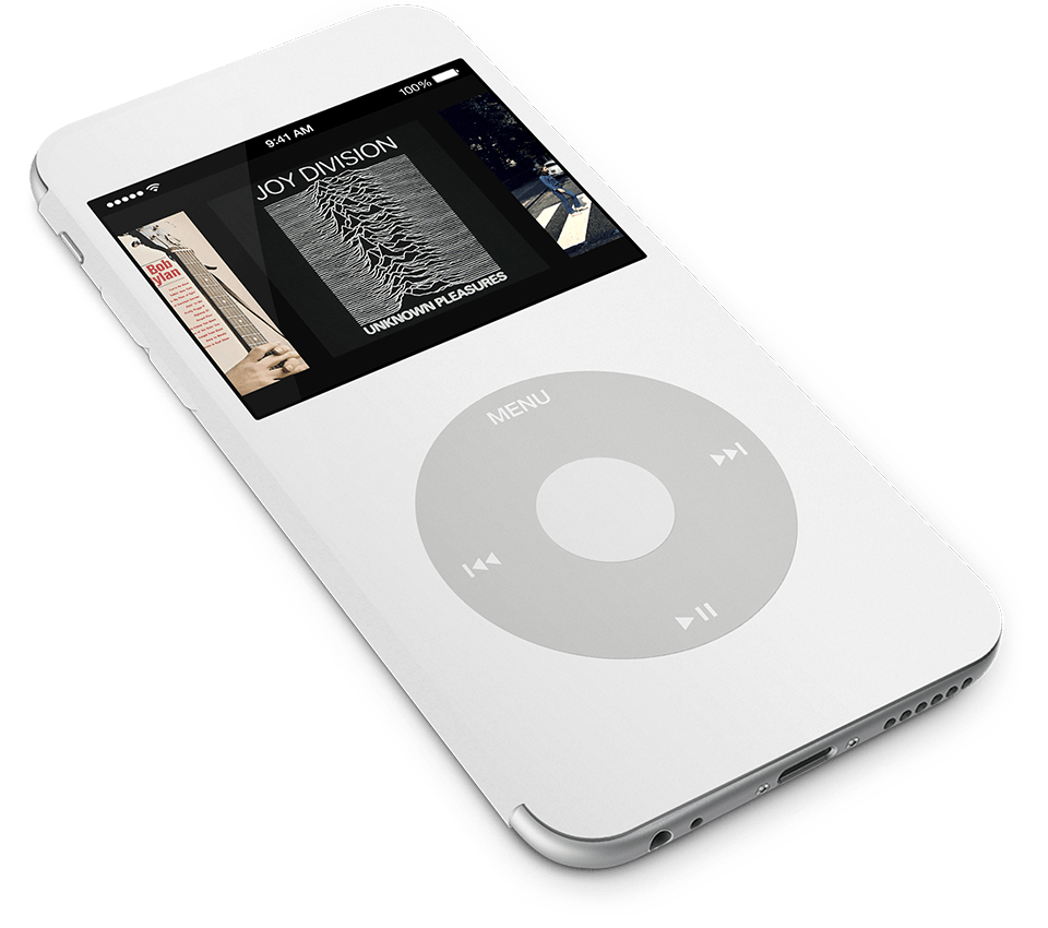 iPod Touch iPod Classic concept 2