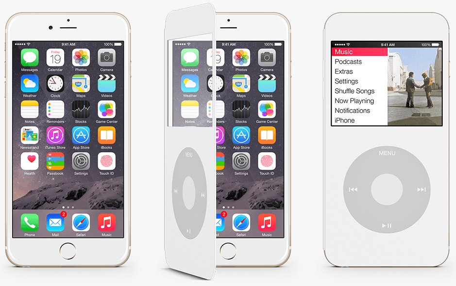 iPod Touch iPod Classic concept