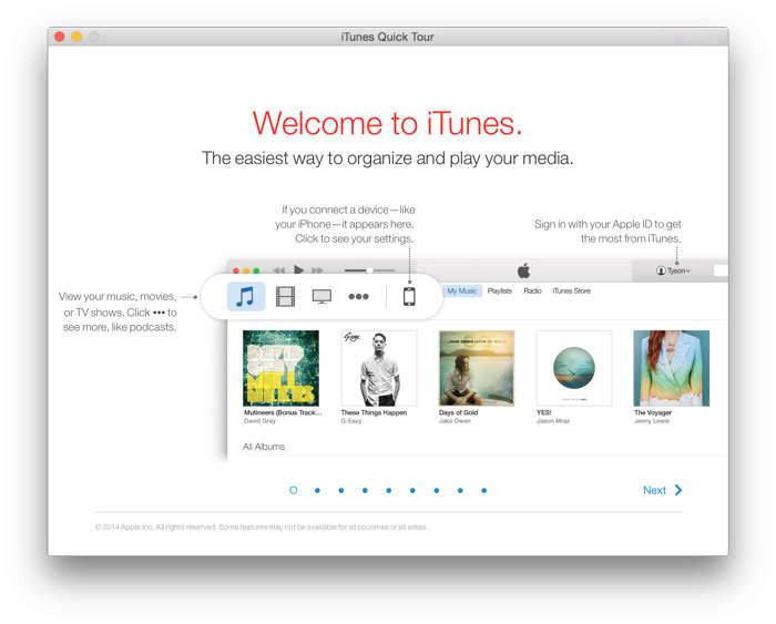 iTunes 12.1 1